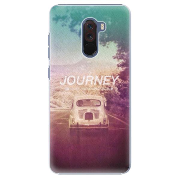 Plastové pouzdro iSaprio - Journey - Xiaomi Pocophone F1