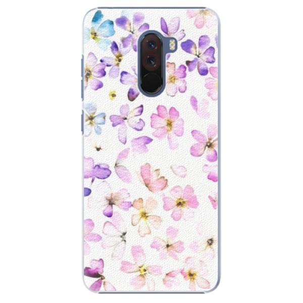 Plastové pouzdro iSaprio - Wildflowers - Xiaomi Pocophone F1