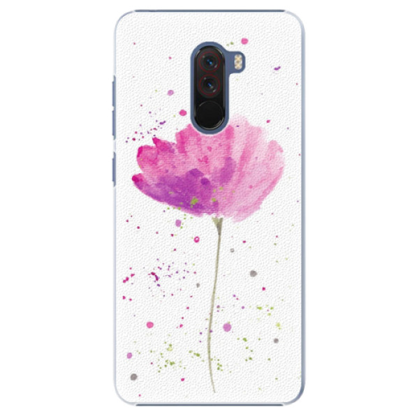Plastové pouzdro iSaprio - Poppies - Xiaomi Pocophone F1