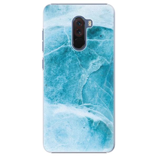 Plastové pouzdro iSaprio - Blue Marble - Xiaomi Pocophone F1