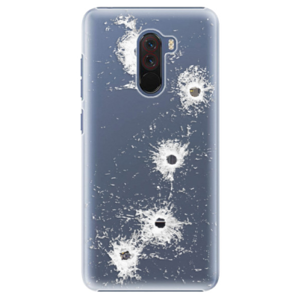 Plastové pouzdro iSaprio - Gunshots - Xiaomi Pocophone F1
