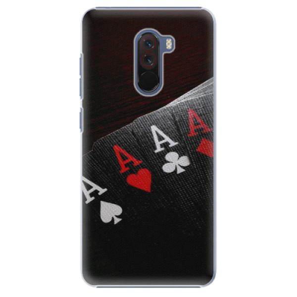 Plastové pouzdro iSaprio - Poker - Xiaomi Pocophone F1