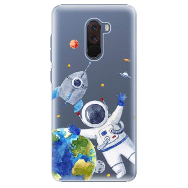 Plastové pouzdro iSaprio - Space 05 - Xiaomi Pocophone F1