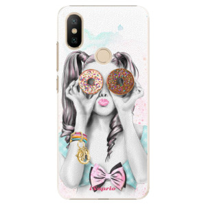 Plastové pouzdro iSaprio - Donuts 10 na mobil Xiaomi Mi A2