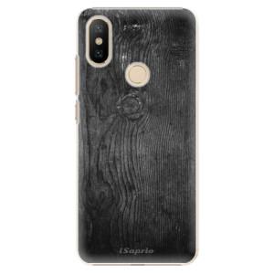 Plastové pouzdro iSaprio - Black Wood 13 na mobil Xiaomi Mi A2