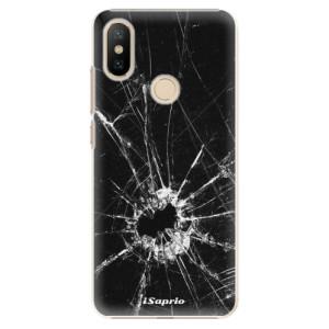 Plastové pouzdro iSaprio - Broken Glass 10 na mobil Xiaomi Mi A2