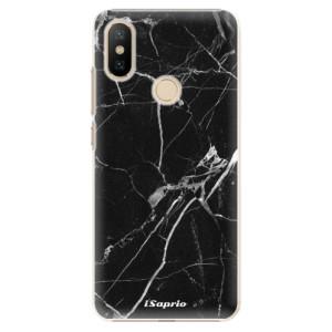 Plastové pouzdro iSaprio - Black Marble 18 na mobil Xiaomi Mi A2