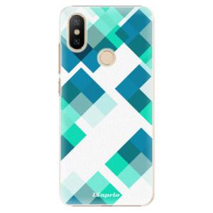 Plastové pouzdro iSaprio - Abstract Squares 11 na mobil Xiaomi Mi A2