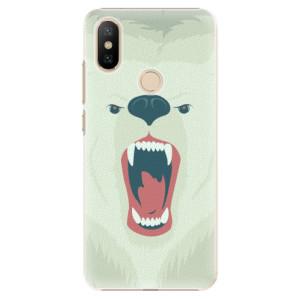 Plastové pouzdro iSaprio - Angry Bear na mobil Xiaomi Mi A2