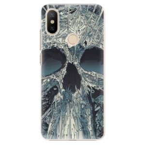 Plastové pouzdro iSaprio - Abstract Skull na mobil Xiaomi Mi A2