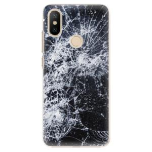 Plastové pouzdro iSaprio - Cracked na mobil Xiaomi Mi A2