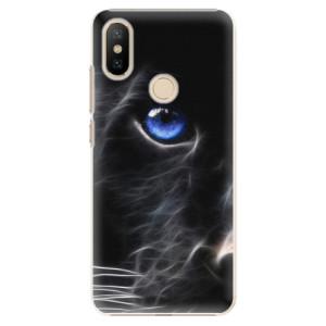 Plastové pouzdro iSaprio - Black Puma na mobil Xiaomi Mi A2