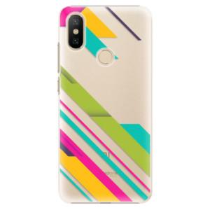Plastové pouzdro iSaprio - Color Stripes 03 na mobil Xiaomi Mi A2