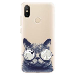 Plastové pouzdro iSaprio - Crazy Cat 01 na mobil Xiaomi Mi A2