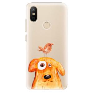 Plastové pouzdro iSaprio - Dog And Bird na mobil Xiaomi Mi A2