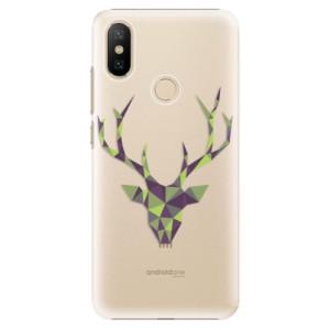 Plastové pouzdro iSaprio - Deer Green na mobil Xiaomi Mi A2