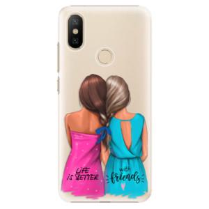 Plastové pouzdro iSaprio - Best Friends na mobil Xiaomi Mi A2