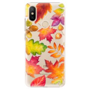 Plastové pouzdro iSaprio - Autumn Leaves 01 na mobil Xiaomi Mi A2