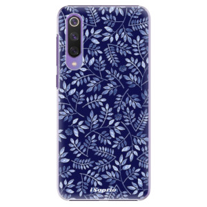 Plastové pouzdro iSaprio - Blue Leaves 05 na mobil Xiaomi Mi 9 SE
