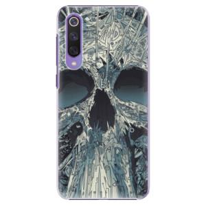 Plastové pouzdro iSaprio - Abstract Skull na mobil Xiaomi Mi 9 SE