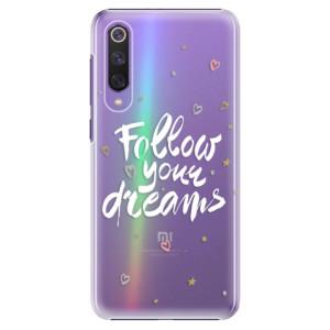 Plastové pouzdro iSaprio - Follow Your Dreams - white na mobil Xiaomi Mi 9 SE