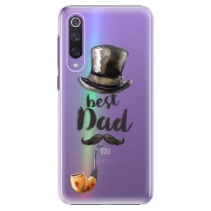 Plastové pouzdro iSaprio - Best Dad na mobil Xiaomi Mi 9 SE