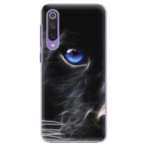 Plastové pouzdro iSaprio - Black Puma na mobil Xiaomi Mi 9 SE