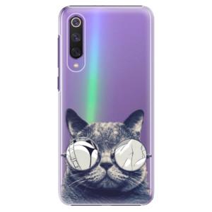 Plastové pouzdro iSaprio - Crazy Cat 01 na mobil Xiaomi Mi 9 SE