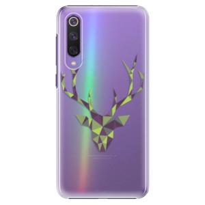 Plastové pouzdro iSaprio - Deer Green na mobil Xiaomi Mi 9 SE