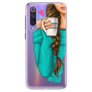 Plastové pouzdro iSaprio - My Coffe and Brunette Girl na mobil Xiaomi Mi 9 SE