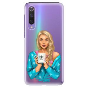 Plastové pouzdro iSaprio - Coffe Now - Blond na mobil Xiaomi Mi 9 SE
