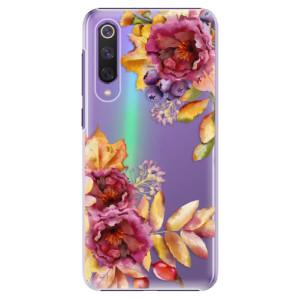 Plastové pouzdro iSaprio - Fall Flowers na mobil Xiaomi Mi 9 SE