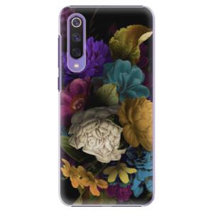 Plastové pouzdro iSaprio - Dark Flowers na mobil Xiaomi Mi 9 SE
