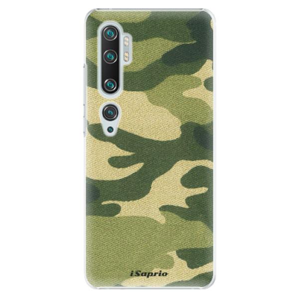 Plastové pouzdro iSaprio - Green Camuflage 01 - Xiaomi Mi Note 10 / Note 10 Pro