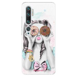 Plastové pouzdro iSaprio - Donuts 10 na mobil Xiaomi Mi Note 10 / Note 10 Pro