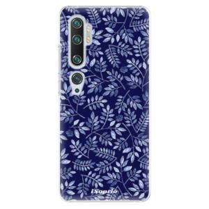Plastové pouzdro iSaprio - Blue Leaves 05 na mobil Xiaomi Mi Note 10 / Note 10 Pro