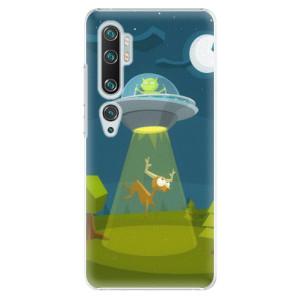 Plastové pouzdro iSaprio - Alien 01 na mobil Xiaomi Mi Note 10 / Note 10 Pro