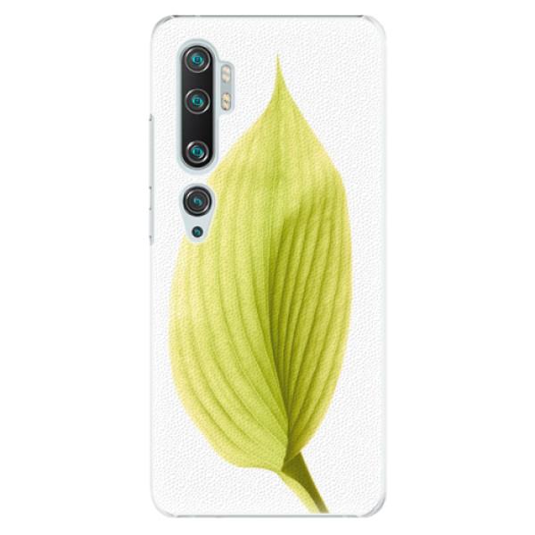 Plastové pouzdro iSaprio - Green Leaf - Xiaomi Mi Note 10 / Note 10 Pro