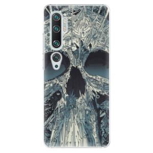 Plastové pouzdro iSaprio - Abstract Skull na mobil Xiaomi Mi Note 10 / Note 10 Pro