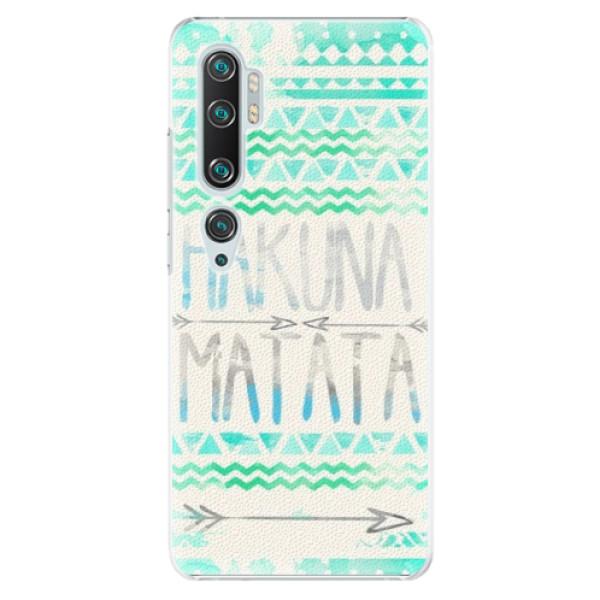 Plastové pouzdro iSaprio - Hakuna Matata Green - Xiaomi Mi Note 10 / Note 10 Pro