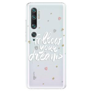 Plastové pouzdro iSaprio - Follow Your Dreams - white na mobil Xiaomi Mi Note 10 / Note 10 Pro
