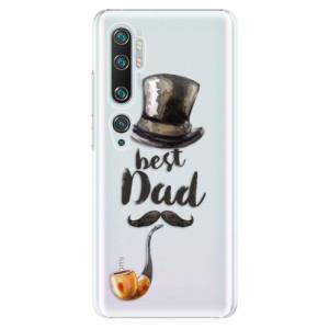Plastové pouzdro iSaprio - Best Dad na mobil Xiaomi Mi Note 10 / Note 10 Pro