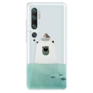 Plastové pouzdro iSaprio - Bear With Boat na mobil Xiaomi Mi Note 10 / Note 10 Pro