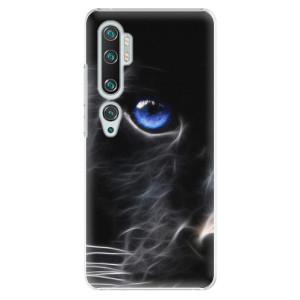 Plastové pouzdro iSaprio - Black Puma na mobil Xiaomi Mi Note 10 / Note 10 Pro