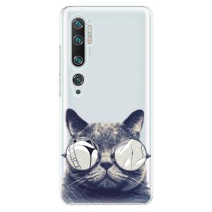 Plastové pouzdro iSaprio - Crazy Cat 01 na mobil Xiaomi Mi Note 10 / Note 10 Pro