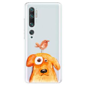 Plastové pouzdro iSaprio - Dog And Bird na mobil Xiaomi Mi Note 10 / Note 10 Pro