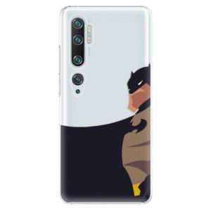 Plastové pouzdro iSaprio - BaT Comics na mobil Xiaomi Mi Note 10 / Note 10 Pro