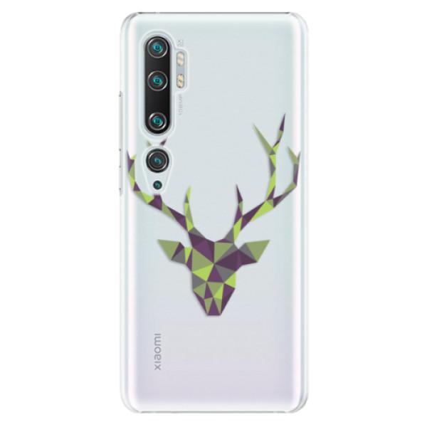 Plastové pouzdro iSaprio - Deer Green - Xiaomi Mi Note 10 / Note 10 Pro