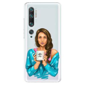 Plastové pouzdro iSaprio - Coffe Now - Brunette na mobil Xiaomi Mi Note 10 / Note 10 Pro