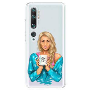 Plastové pouzdro iSaprio - Coffe Now - Blond na mobil Xiaomi Mi Note 10 / Note 10 Pro